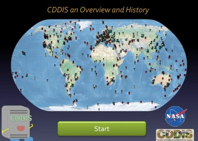 CDDIS an Overview and History